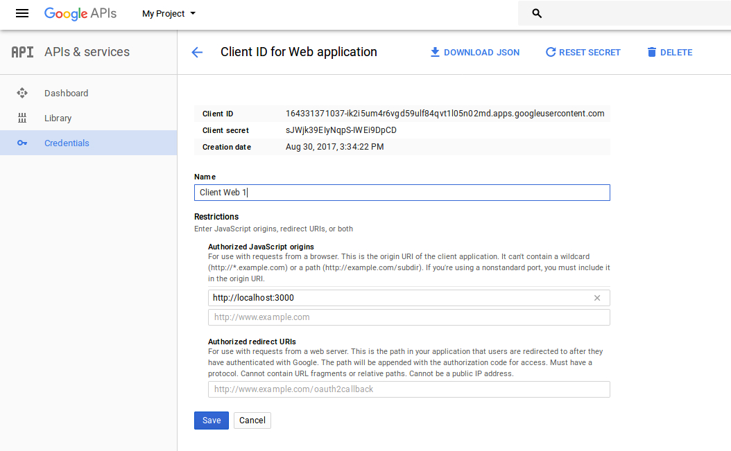 Tạo Event trong Google Calendar sử dụng javascript