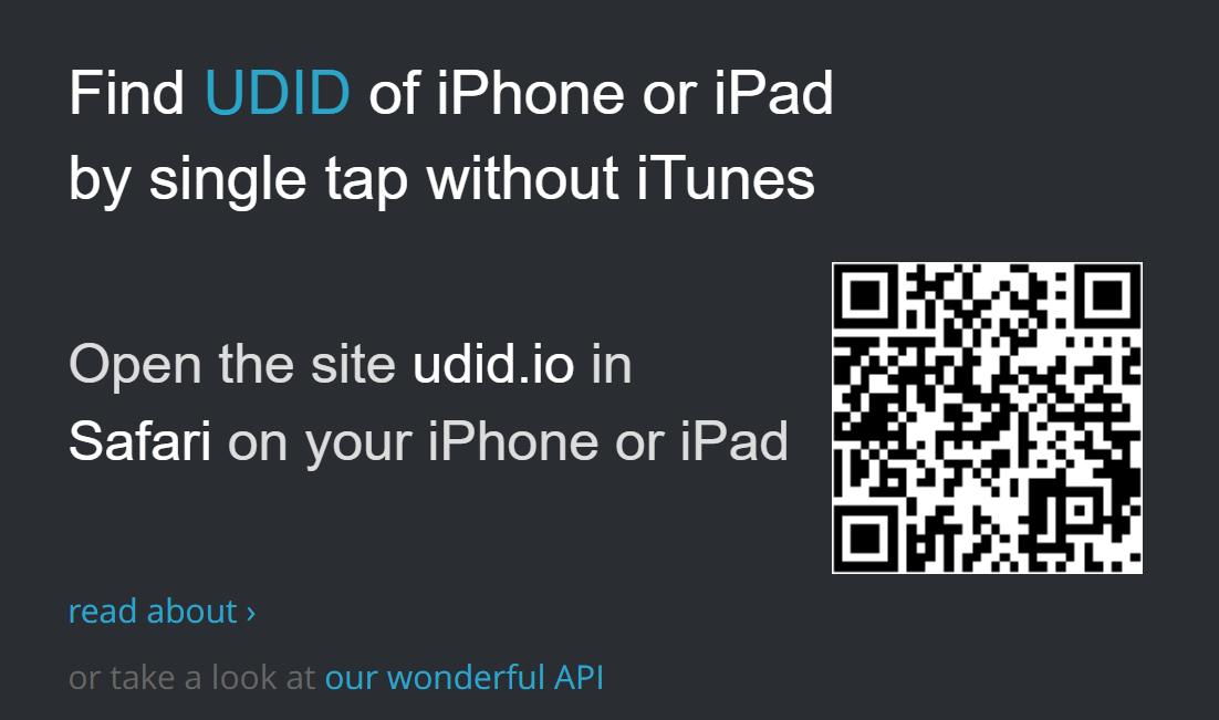 Hướng dẫn lấy UDID của thiết bị iOS (iPhone, iPad)